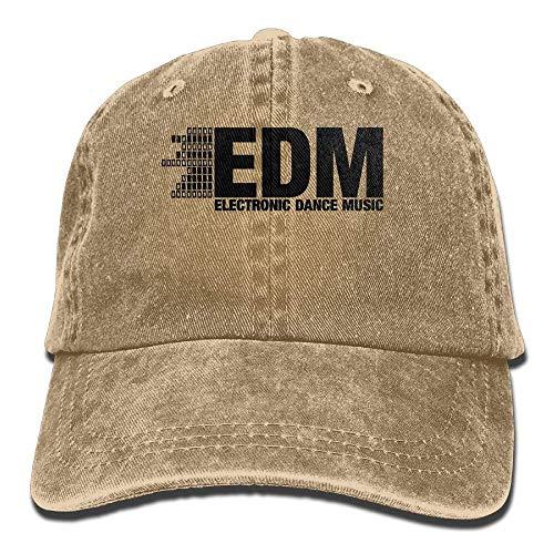 Electro Dubstep EDM Music Dance Electronic Minimal Cowboy Visor Rear Cap c72851a471ae