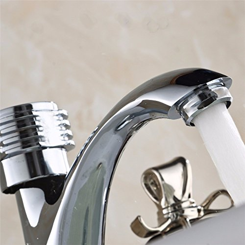 low-cost LOSTRYY Pure copper single cold water faucet single hole basin mixer