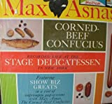 Max Asnas Corned Beef Condfucius Recorded Live At The Stage Delicatessen. LP