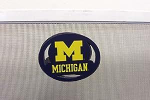 University of Michigan Screen Saver for Door or Windows