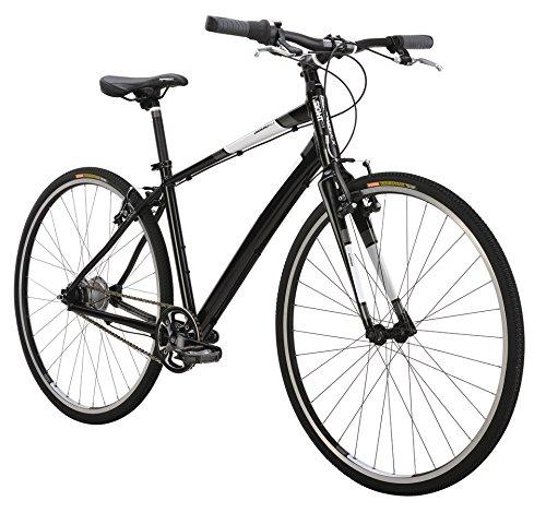 Diamondback Bicycles 2015 Insight Sti-8 Complete Performance Hybrid Bike, 18-Inch/Medium, Dark Grey Matte
