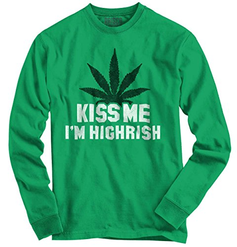 im-highrish-funny-quote-fun-gift-ideas-st-patricks-day-long-sleeve-t-shirt
