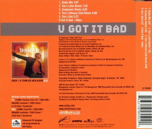 musica do usher u got it bad