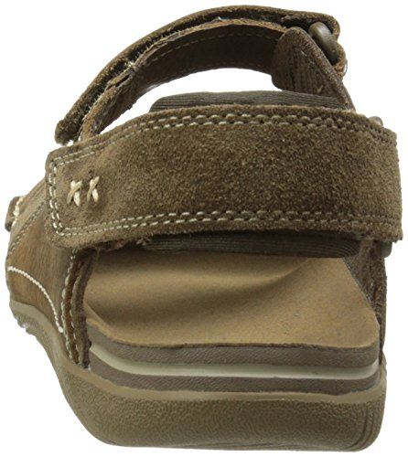 Duo Men's Merrell Bask Outdoor Sandals Marron Moss qEq15Uxw