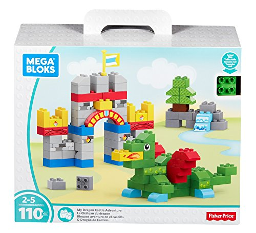 Mega Bloks My Dragon Castle Adventure Building (Dragon Block)