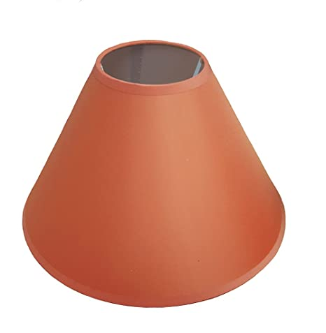 14 coolie ceiling table lamp shade main colour terracotta amazon 14quot coolie ceiling table lamp shade main colour terracotta aloadofball Image collections
