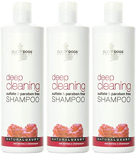Isle of Dogs Deep Cleaning Sulfate Free Shampoo, 16 Fluid Ou