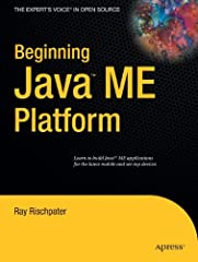 Have you thought about building games for your cell phone or other wireless devices? Whether you are a first–time wireless Java developer or an experienced professional, Beginning Java™ ME Platform brings exciting wireless and mobile Java app...