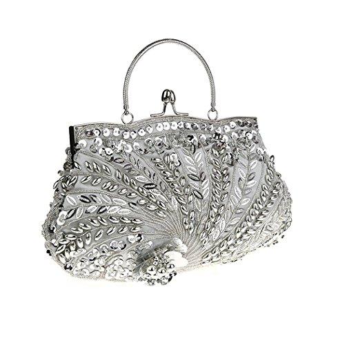 K Shoulder Ayozen Womens silver Bag 0gX6t6xq