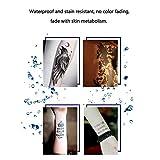Qinlorgo 2Pcs Waterproof Tattoo Ink Body Paint