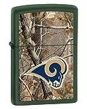 Zippo Camouflaged St. Louis Rams Green Matte Lighter