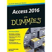 Access 2016 für Dummies