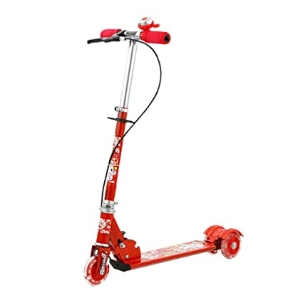QXPedal Patinete Infantil, Scooter con Freno Patinete ...