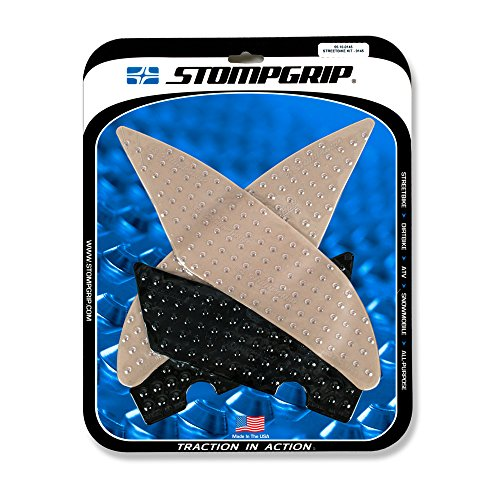 17-19 YAMAHA YZF-R6: STOMPGRIP Traction Pads (CLEAR)