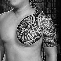 NiceButy Grandes tatuajes temporales engomadas impermeables ...
