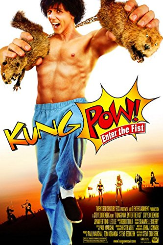 KUNG POW Jot down THE FIST (2002) Original Movie Poster 27x40 - Dbl-Sided - Tad Horino - Steve Oedekerk