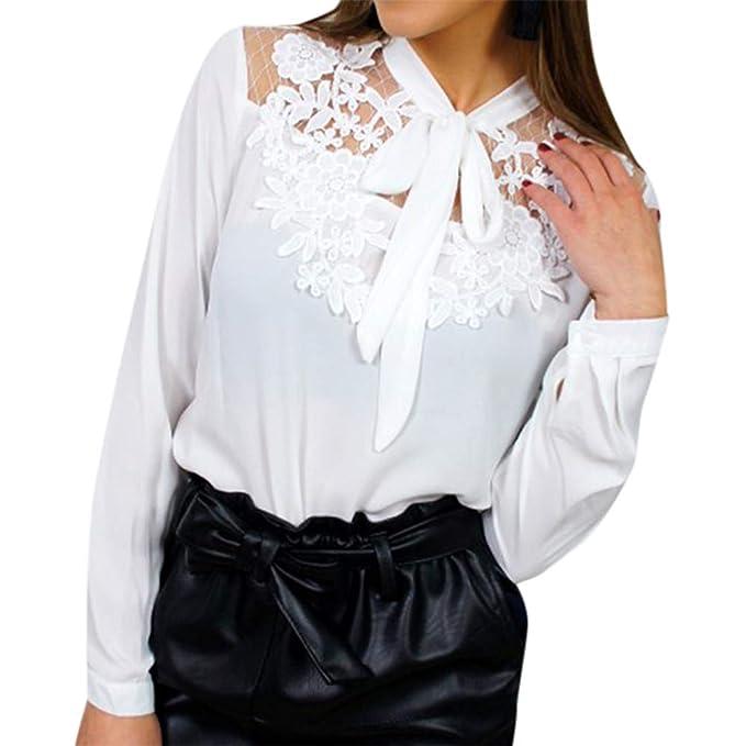 FELZ Blusa Superior, Blusas de Mujer Elegantes de Fiesta, Blusas para Mujer Elegantes Tallas Grandes, Camisetas Personalizadas Sexy Perspectiva: Amazon.es: ...