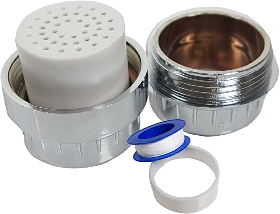 """OXYFUL 10-Stage Universal Shower Filter Sink 1//2/"""" Male//Female Faucet Replacement"""