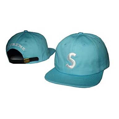 06085e82640 Sandility-PP Unisex Adjustable Fashion Leisure Baseball Hat Supreme Snapback  Dual Colour Cap  Amazon.co.uk  Clothing