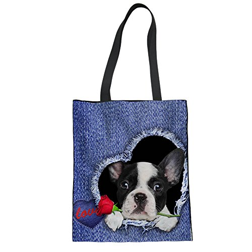 Dog Women 1 Blue Blue Bag Size One For Tote Cc3001z22 Showudesigns qaOzI