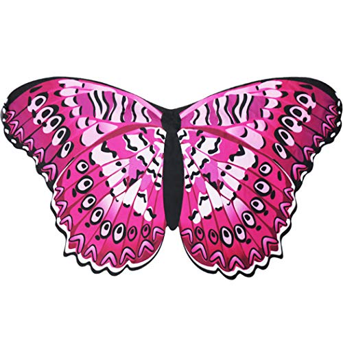 Flying Childhood Fairy Butterfly Wings for Toddler Girls Dreamy Princess Costume Animal Dress up- Pretend Party Favors