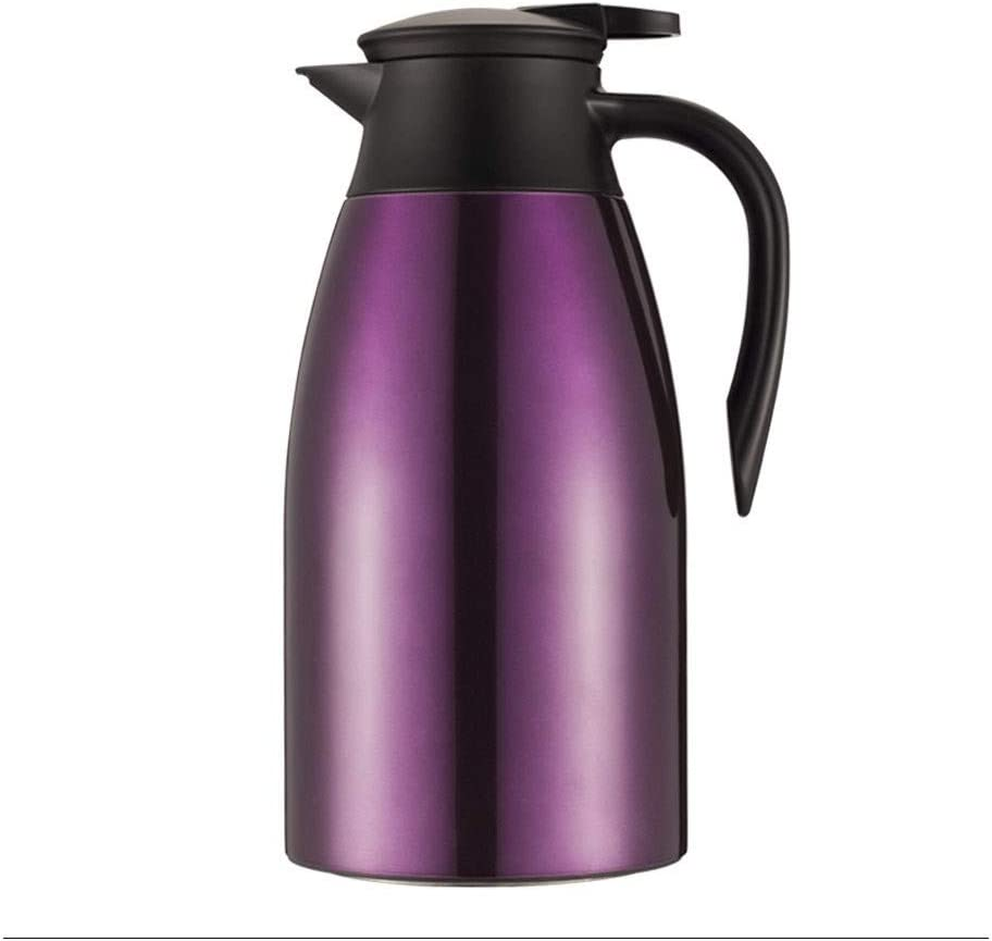2L Vacuum Jug 304 Stainless Steel Double-Wall Vacuum Insulated Coffee Pot
