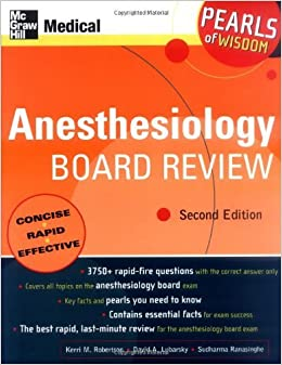 Book By Kerri Wahl - Anesthesiology Board Review: 2nd (second) Edition