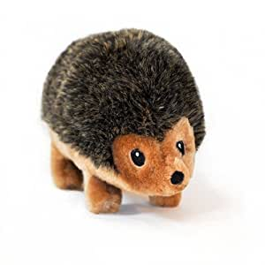 Pet Supplies : Squeaky Hedgehog SMALL Plush Dog Squeaker