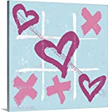Peter Horjus Gallery-Wrapped Canvas entitled Teen Collection - Love Wins