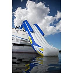 Aquaglide 58-5213006 Freefall 5' Inflatable Pontoon Slide w/ Warranty & Pump