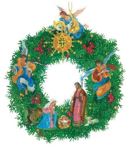 Caspari Nativity Wreath Advent Calendar