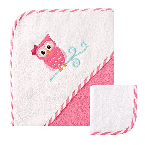 Luvable Friends Hooded Towel Washcloth product image