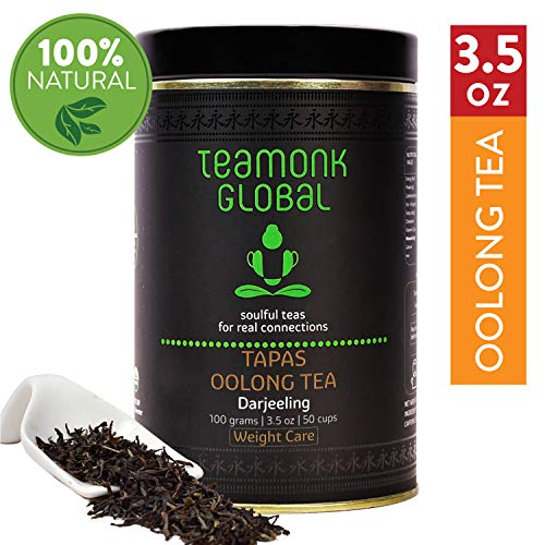 Darjeeling Oolong Tea, 3.5oz (50 Cups) | Supports Weight Loss | 100% Natural Whole Loose Leaf Tea from the Himalayas | No additives ()