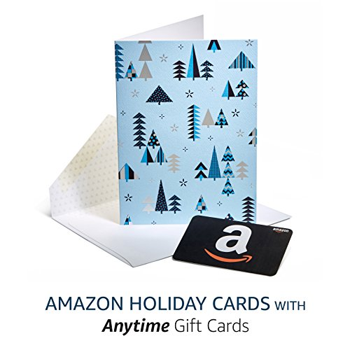 Large Product Image of Amazon Premium Greeting Cards with Anytime Gift Cards, Pack of 3 (Season's Greetings Design)