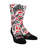 Ohio State Buckeyes Logo Sketch White Socks (Small/Medium)