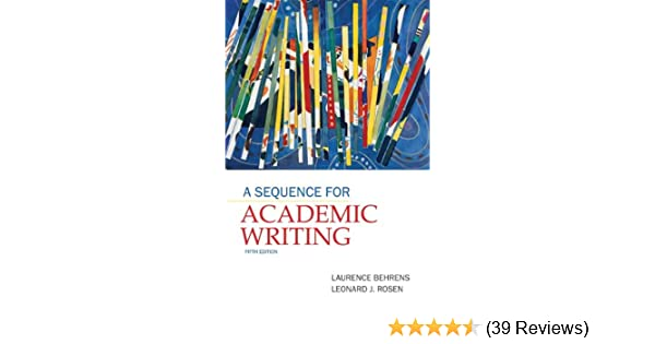 a sequence for academic writing 5th edition citation