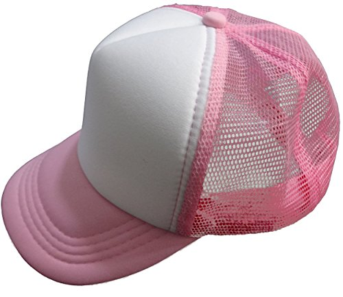 Tazprab Custom Flower-3D Rose Kids Mesh Trucker Cap Hat Adjustable Baseball Caps by Tazprab (Image #4)