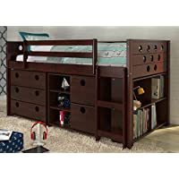 Twin Circles Modular Low Loft Bed 721810