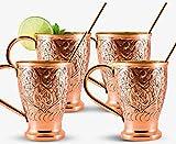 Moscow Mule Pure Copper Mugs %7C Stunnin