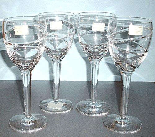 Waterford Jasper (Waterford Jasper Conran Aura 4 Red Wine Crystal Glasses Made In Ireland NEW)