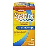Alcon Systane Vitamin Omega-3 Healthy Tears 60 Softgel For Sale