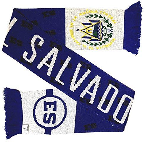 El Salvador Soccer Knit Scarf