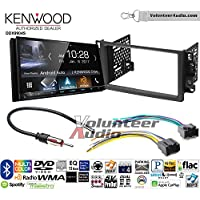 Volunteer Audio Kenwood DDX9904S Double Din Radio Install Kit with Apple CarPlay Android Auto Bluetooth Fits 2007-2011 Chevrolet Aveo