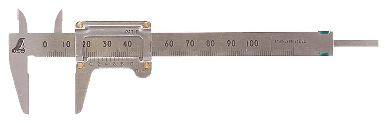 シンワ測定 ポケットノギス 100mm 19518