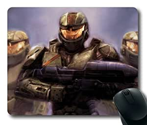 Halo Customized Rectangle Mousepad Game Halo 1/2/3/4/6 Mousepad by mcsharks