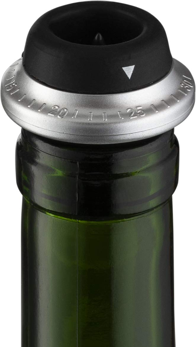 Gourmia 2 in 1 Wine Opener and Preserver set Electric Corkscrew Rechargeable Wine Bottle Opener and Sealer Removes Corks,Vacuum Seals and Preserves Wine Includes Foil Cutter,2 Stoppers,Recharging Base by Gourmia (Image #7)