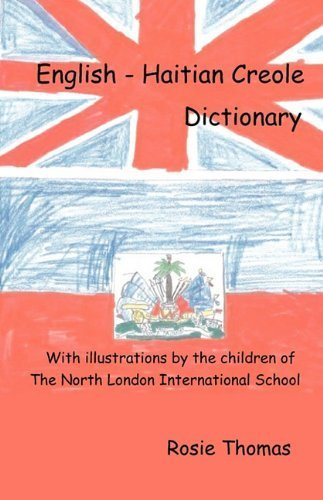 Book English - Haitian Creole Dictionary by Rosie Thomas (2010-03-30