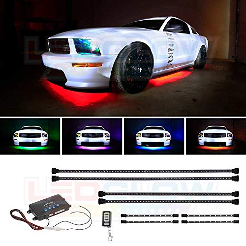 Million Color Wireless Led Underbody Lighting Kit in US - 8