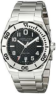 Hamilton H70515137 - Reloj de pulsera hombre, acero inoxidable, color plateado