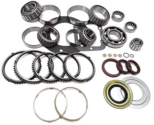 ZF S6-650 6-Speed Manual Transmission Rebuild Kit with Synchros